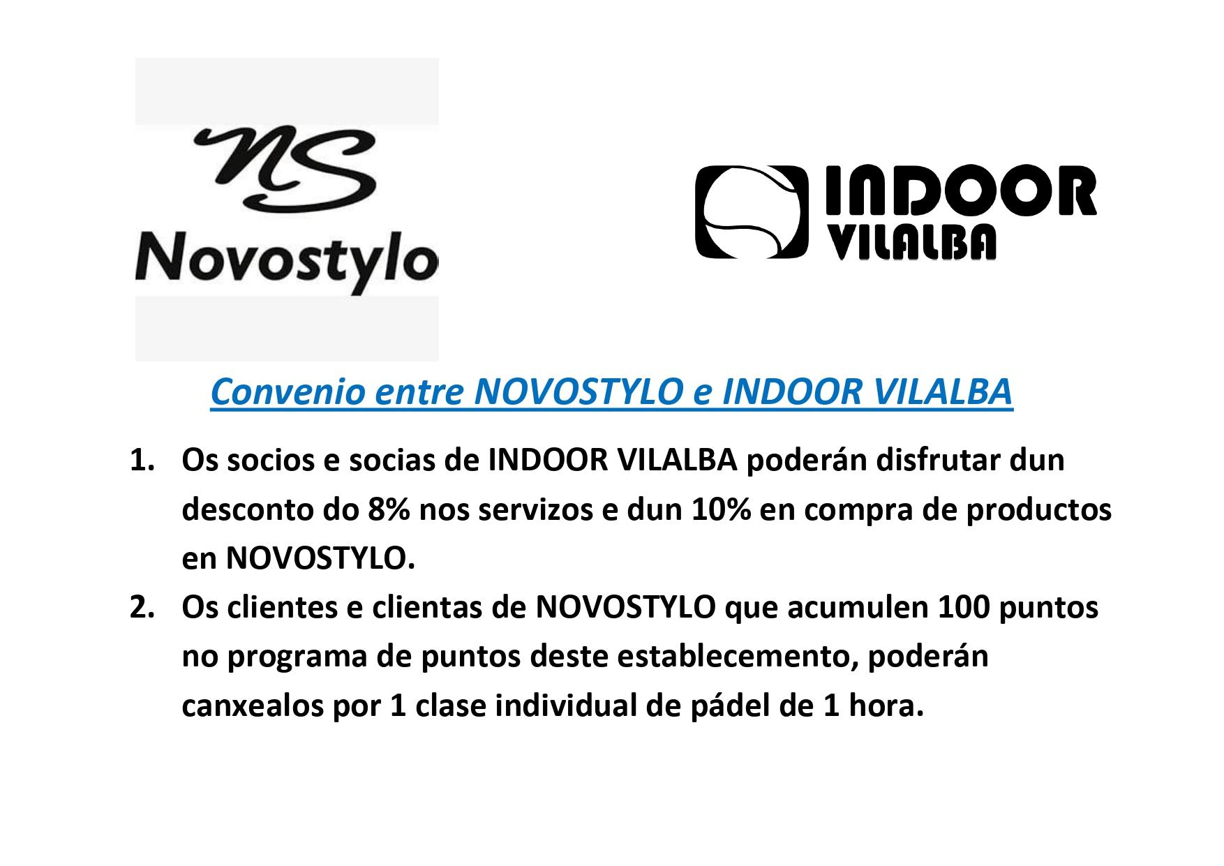 Convenio entre novostylo e indoor vilalba page 0001